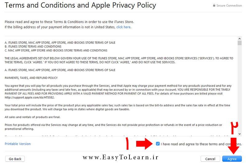 آموزش ساخت Apple ID