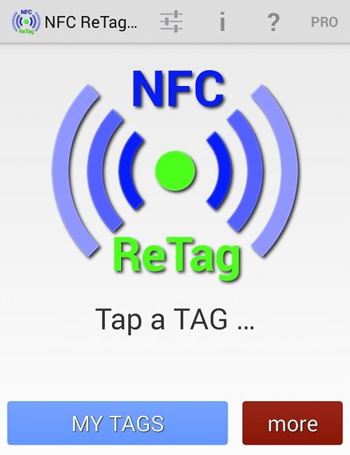 استفاده از کارت مترو به عنوان NFC TAG