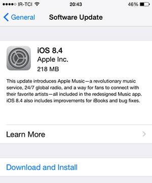 AppleiOS8.4