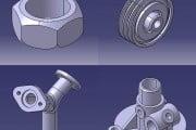 طراحی قطعات و مثال های کاربردی در نرم افزار کتیا/قسمت اول