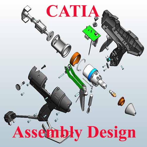 آموزش محیط مونتاژ کاری (Assembly Design) در کتیا/قسمت اول