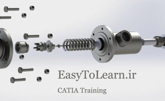 آموزش کتیا-محیط مونتاژ-assembly Design